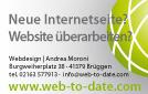 Neue Internetseite? Website überarbeiten? Dies alles gibt es bei Webdesign | Andrea Moroni in Brüggen